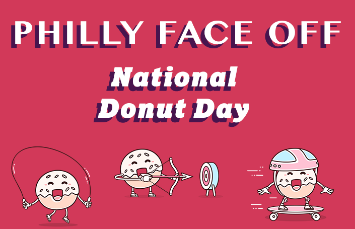 Philly Face Off - National Donut Day