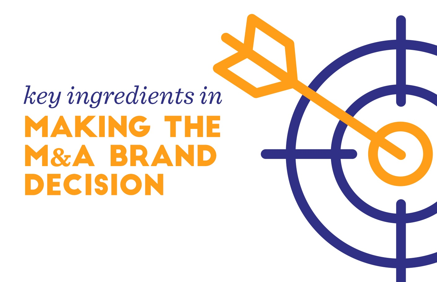 Key Ingredients to Making M&A Brand Decisions