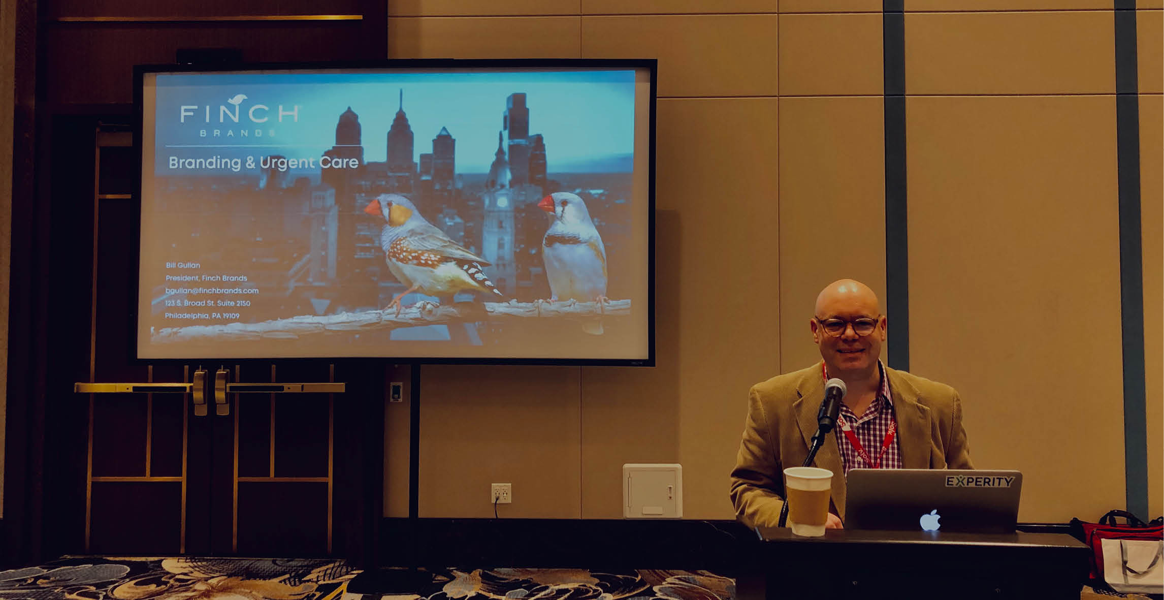 Branding Keynote with Bill Gullan, President of Finch Brands – NERUCA Conference 2019