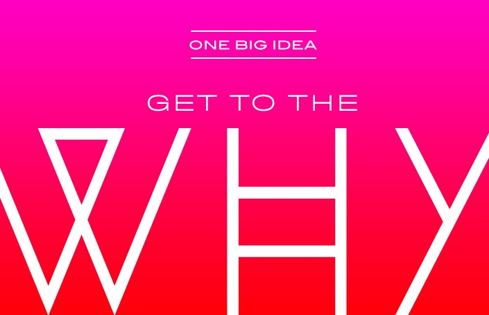 One Big Idea: Get to the 'Why'