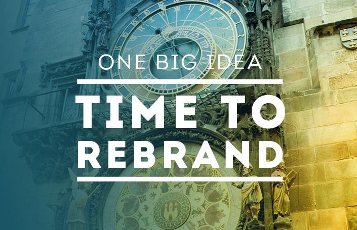 One Big Idea - Time to Rebrand?