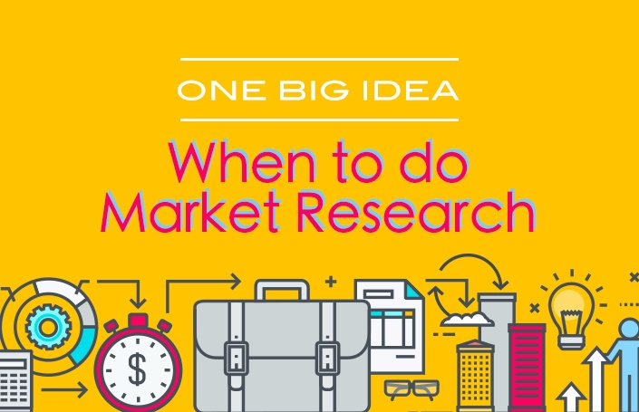 One Big Idea: When to Do Market Research